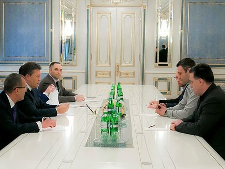 Переговоры Президента с оппозицией