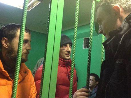 Засуджені протестувальники