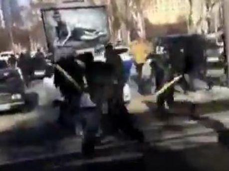 Драки в Донецке