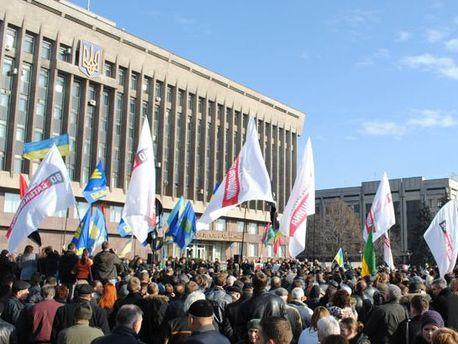 Запорізький Євромайдан не розходиться
