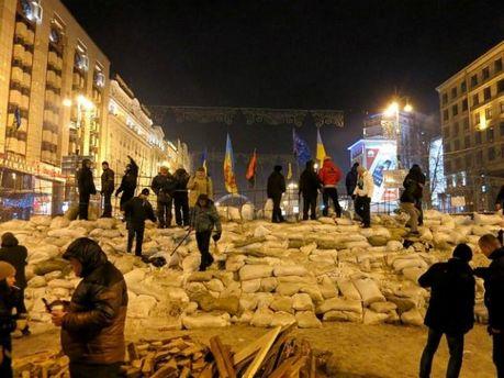 Барикады на Майдане