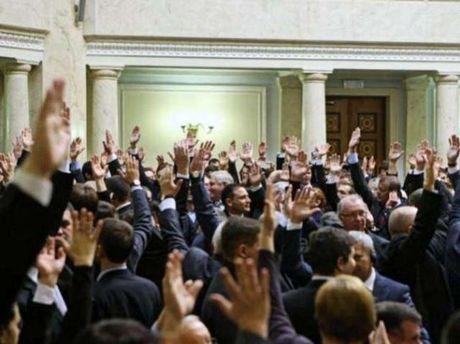 Голосование руками