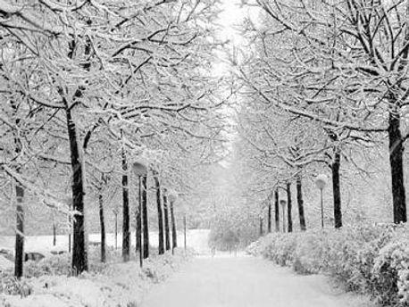 В Украине холодно