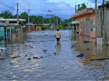 Наводнение в Боливииб