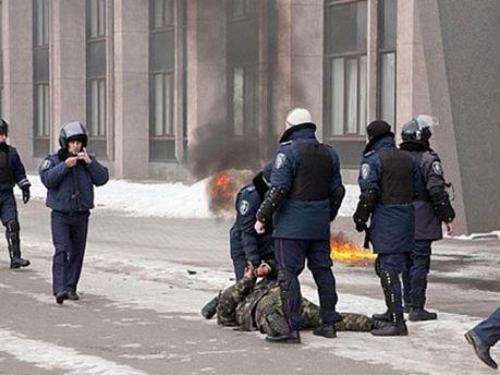 Міліція затримала активіста