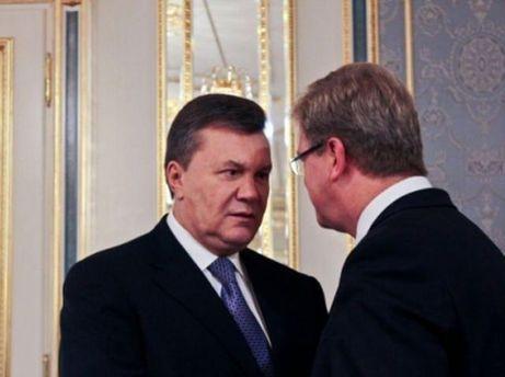 Віктор Янукович і Штефан Фюле
