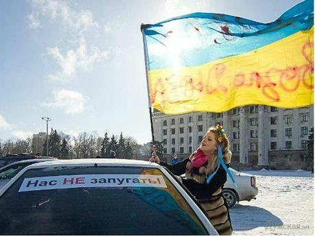 Акція Автомайдану в Одесі