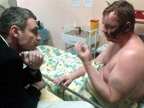 Дмитро Булатов і Віталій Кличко
