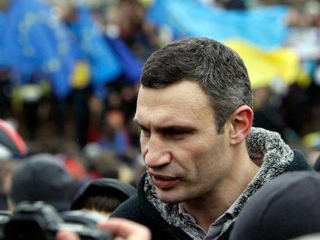Кличко на Майдане