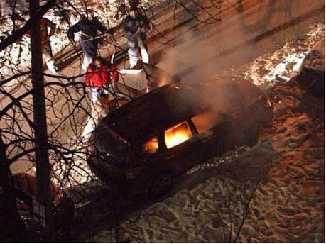 У Києві підпалили авто представниці канадського посольства