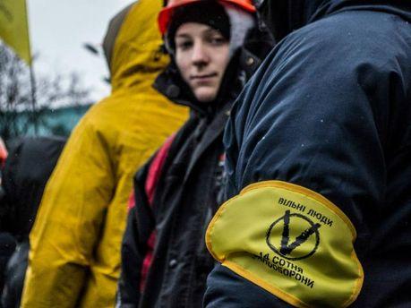 Жінки на Майдані створили свою сотню самооборони