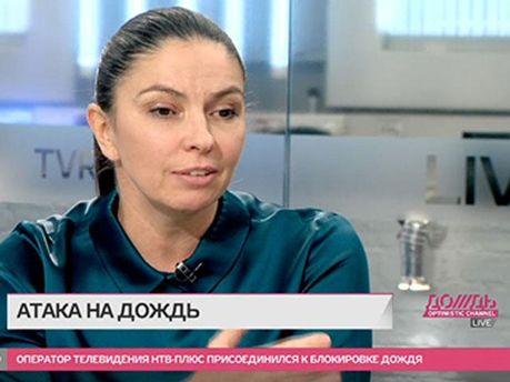 """Гендиректор """"Дождя"""" Наталія Сіндеєва"""