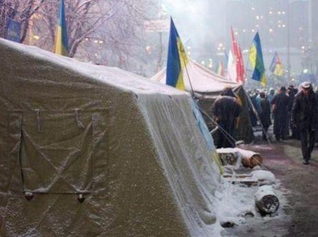Палатка на Майдане