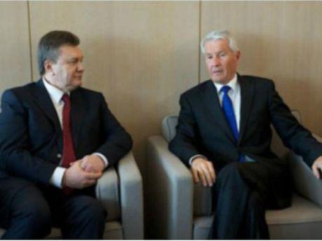 Віктор Янукович та Торбйон Ягланд
