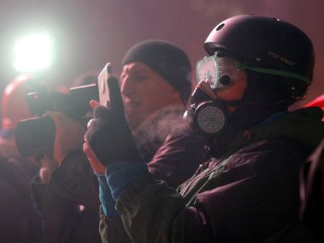 Журналисты на Грушевского