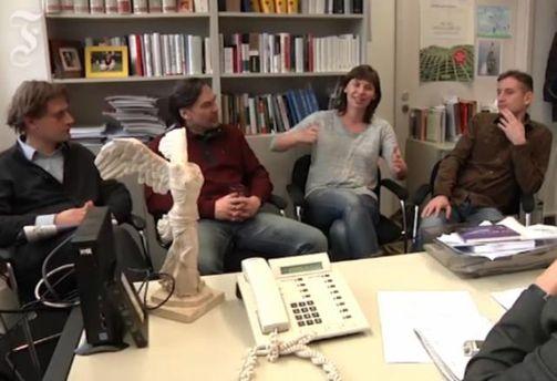 Українські письменники розповіли німцям про Майдан