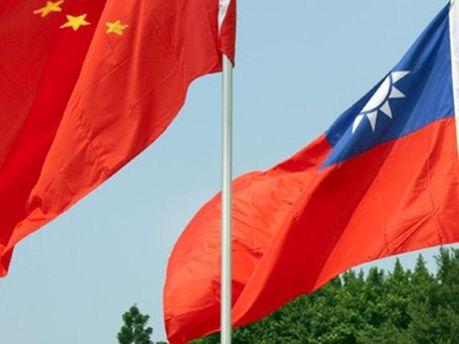 Прапори Китаю і Тайвані