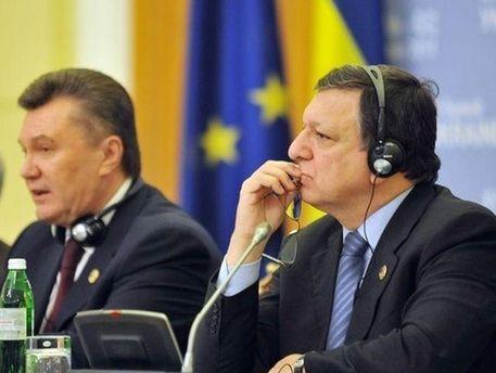Жозе Мануель Баррозу і Віктор Янукович