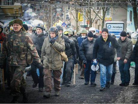 Андрей Парубий и самооборона Майдана