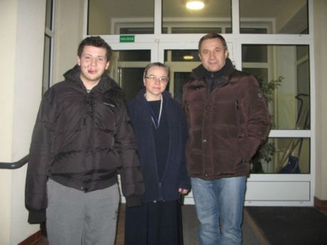 Роман Дзівінський (зліва)