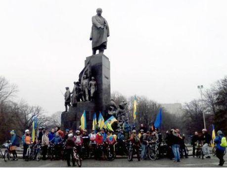 Велопробіг у Харкові