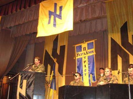 Виступ Білецького на ІІ Всеукраїнському з'їзді