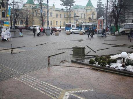 Центральная площадь Винницы