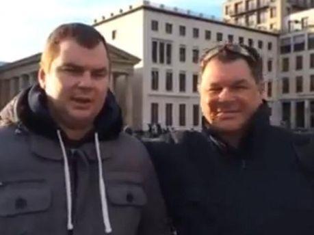 Дмитрий Булатов с отцом