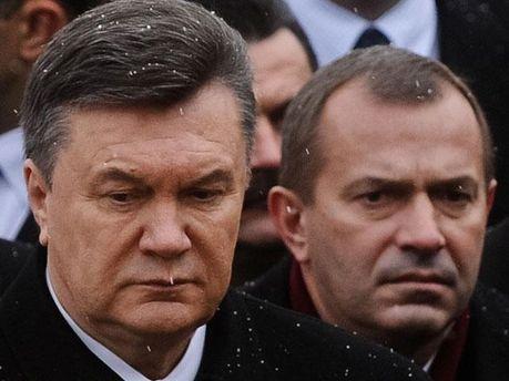 Віктор Янкуович та Андрій Клюєв