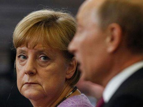 Ангела Меркель і Віктор Янукович