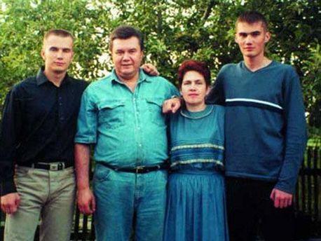 Семья Януковича