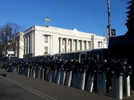 Правоохоронці біля Ради