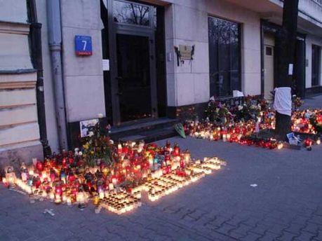 Варшава, вшанування загиблих в Україні