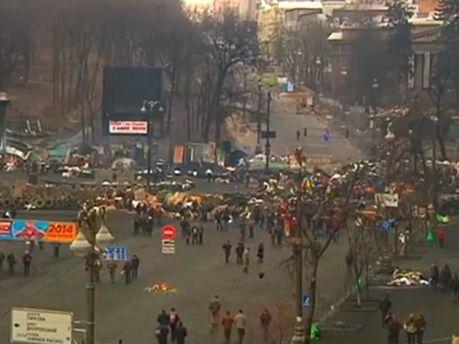 Майдан зараз