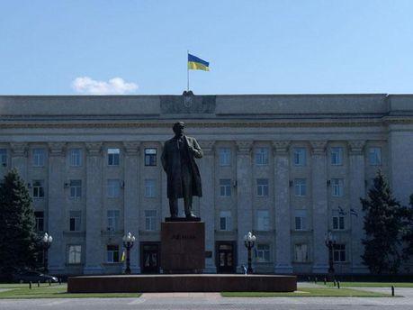 Памятник Ленину в Херсоне