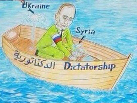Сирийские повстанцы за Украину