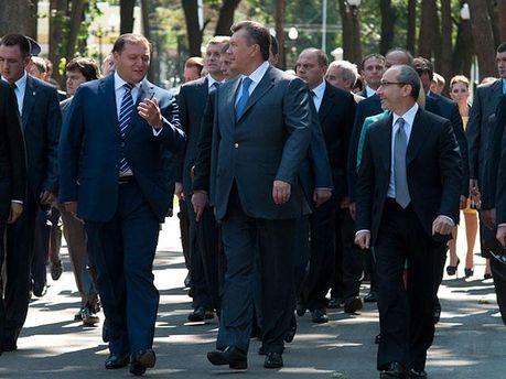 Михайло Добкін і Віктор Янукович