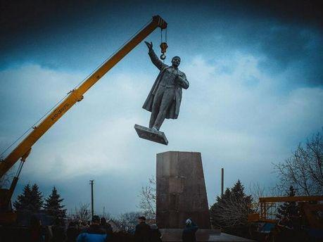 Ленін у Новій Каховці
