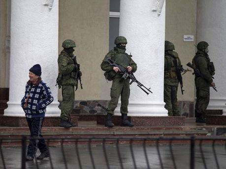 Озброєні люди в Криму