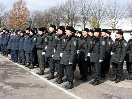 Внутренние войска МВД