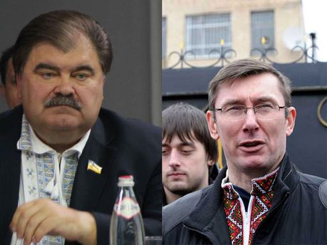 Владимир Бондаренко и Юрий Луценко