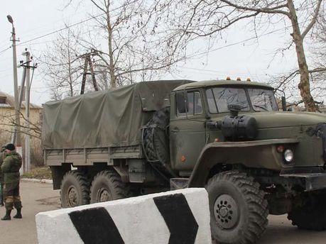 Военная часть в Керчи