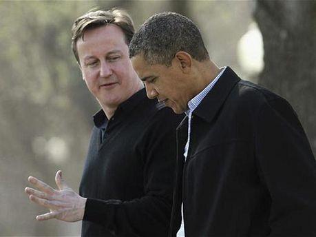 Барак Обама і Девід Кемерон