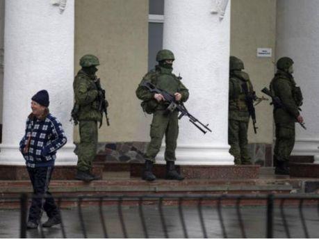 Российские военнослужащие