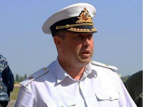 Екс-командувач ВМС України Денис Березовський