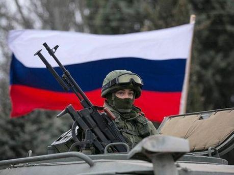 Російський військовий в Криму