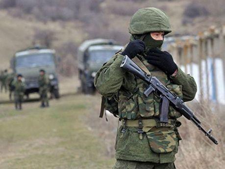 Російські військові в Криму