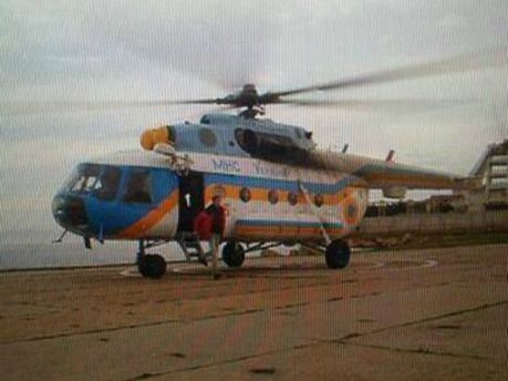 Російські військові захопили вертоліт, який доставляв журналістів