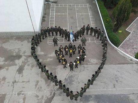 Моряки ВМС в Крыму