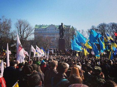 Парк им. Тараса Шевченко в Киеве